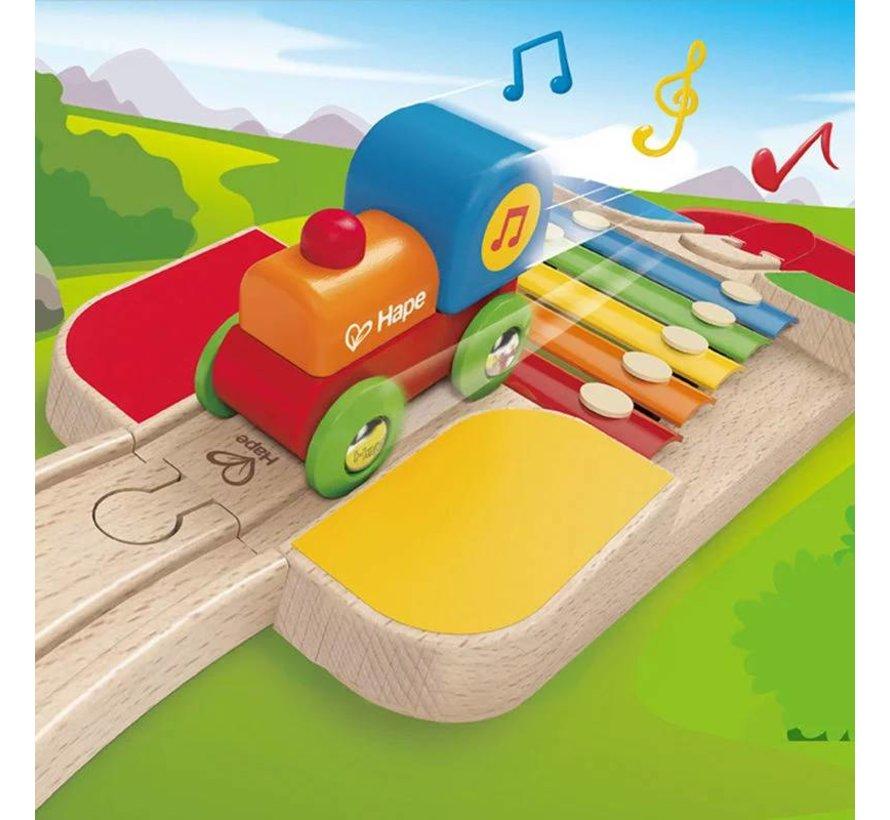 Houten trein Muziek Hape