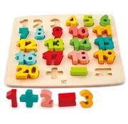 Hape Leren Rekenen puzzel cijfers hout Hape