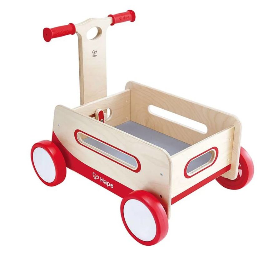 Loopauto hout Red Hape
