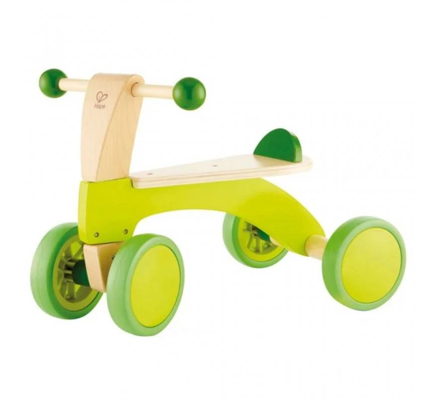 Loopfiets Green 4 Wheels Hape