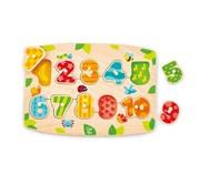 Hape Puzzel Nummers en Cijfers hout Hape