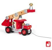 Janod Houten Brandweerauto Janod