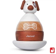 Janod Houten Stapel Hond Janod
