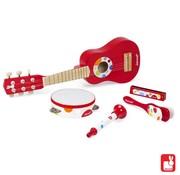 Janod Janod Confetti - Set Muziekinstrumenten Rood