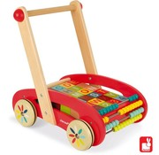 Janod Janod Tatoo - ABC buggy (30-delig)