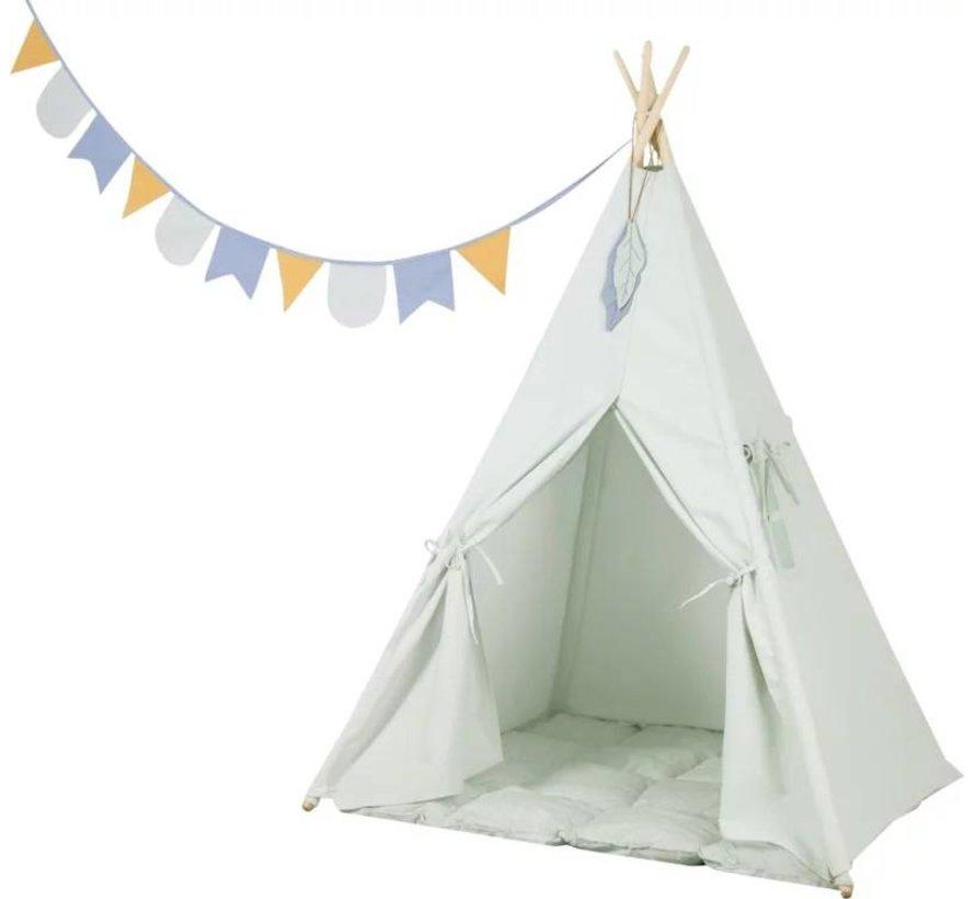 Tipi Tent Mint Little Dutch