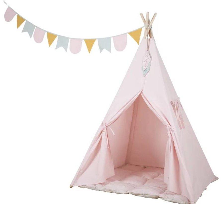 Tipi Tent Roze Little Dutch