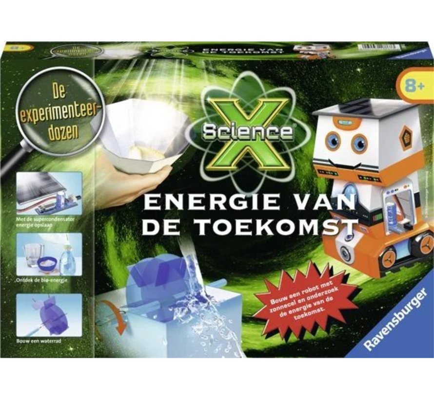 ScienceX Energie van de Toekomst Ravensburger