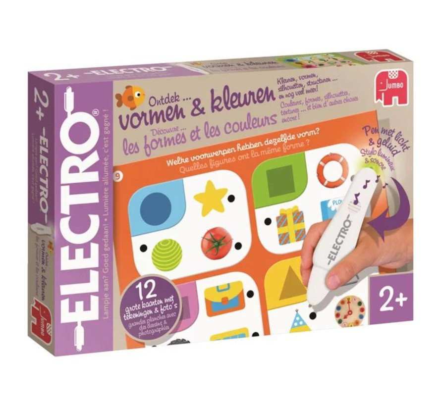 Electro Wonderpen Vormen & Kleuren Jumbo