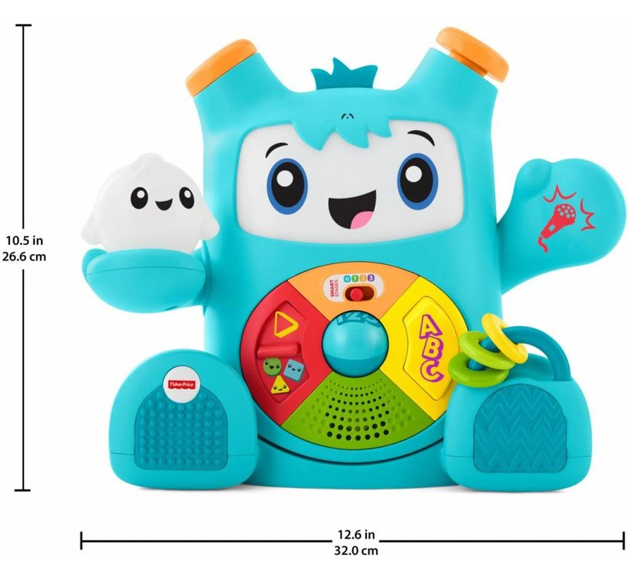 Leerplezier Slimme Moves RockIt - Speelgoedrobot Fisher-Price