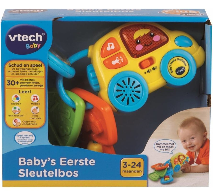 Vtech Baby's Eerste Sleutelbos