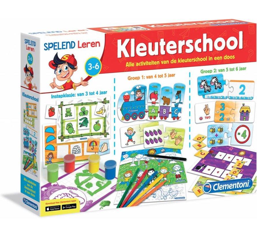 Clementoni Spelend Leren - Kleuterschool