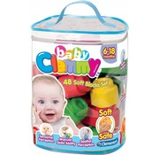 Clementoni Clementoni Baby Clemmy Set 48 zachte blokken
