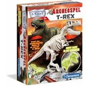 Clementoni Wetenschap en Spel Archeospel T-Rex Fluo