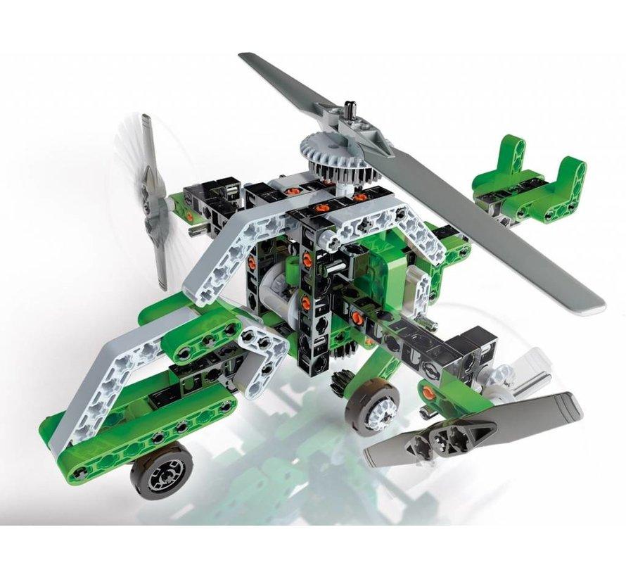 Wetenschap en Spel Mechanica Helikopter en Plezierboot