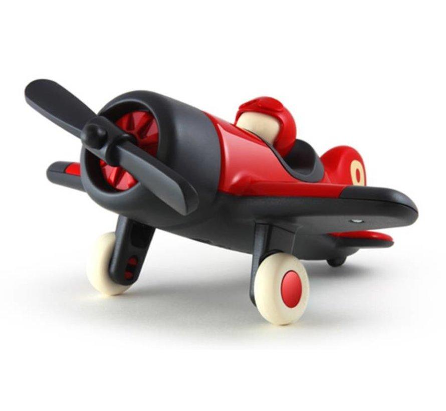 Playforever Mimmo Aeroplane Red vliegtuig