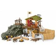 Schleich Schleich Croco Jungle Onderzoeksbasiskamp