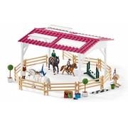 Schleich Schleich Ruiterschool met Ruiter en Paarden