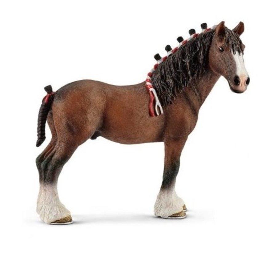 Schleich Clydesdale Ruin paard