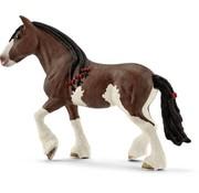 Schleich Schleich Clydesdale Merrie paard