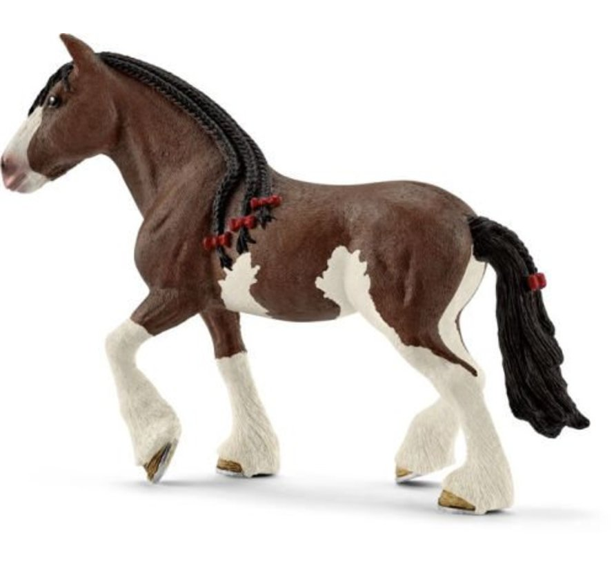 Schleich Clydesdale Merrie paard