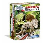 Clementoni Wetenschap en Spel Archeospel Triceratops Fluo