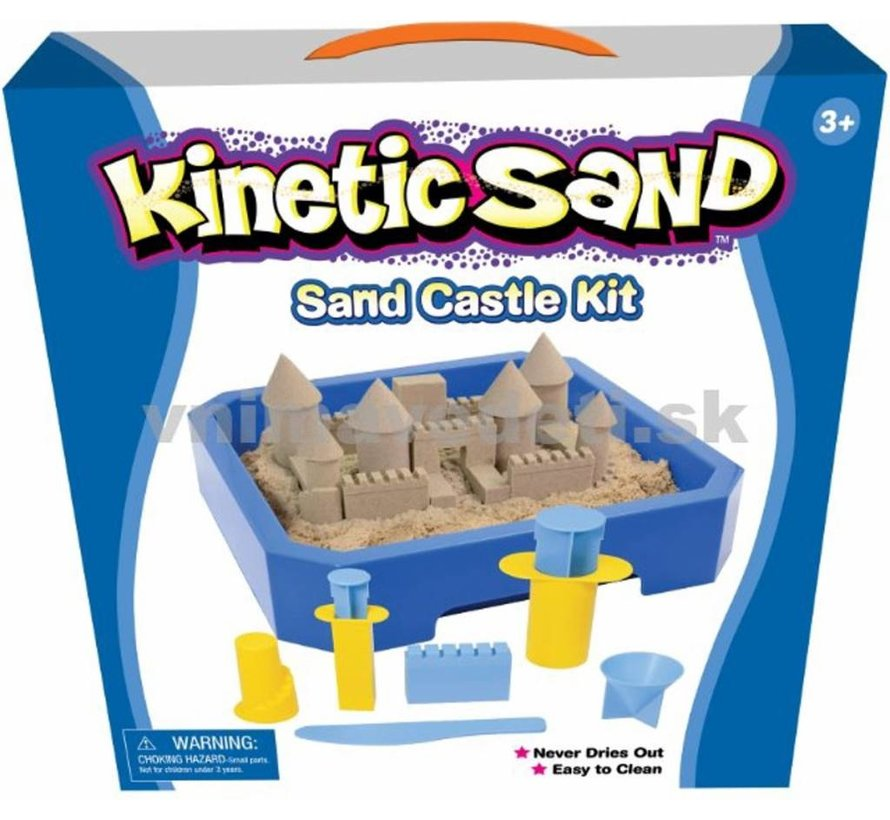 Kinetic Sand speelzand Kasteel kit 2.5kg + mini kasteel