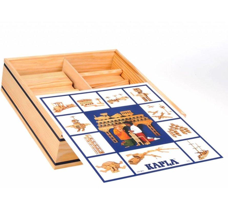 KAPLA Blank 100 Plankjes