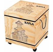 Kapla KAPLA Blank + Voorbeeldboek Deel 1 - 280 Plankjes