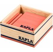 Kapla KAPLA Kleur - 40 Plankjes - Roze