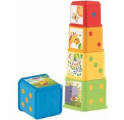 Fisher-Price Fisher-Price Stapel en Leer Blokken