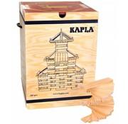 Kapla KAPLA Blank 280 Plankjes + Voorbeeldboek Deel 1