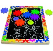Melissa & Doug Melissa & Doug - Switch & Spin Magnetic Gear Board