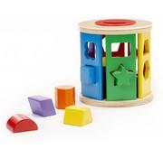 Melissa & Doug Melissa & Doug Sorteer en rol Vormenstoof - klassiek houten speelgoed