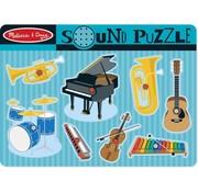 Melissa & Doug Melissa & Doug Houten Puzzel met Geluid Muziekinstrumenten