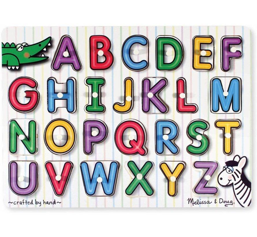 Melissa & Doug - See-Inside Alphabet Puzzel