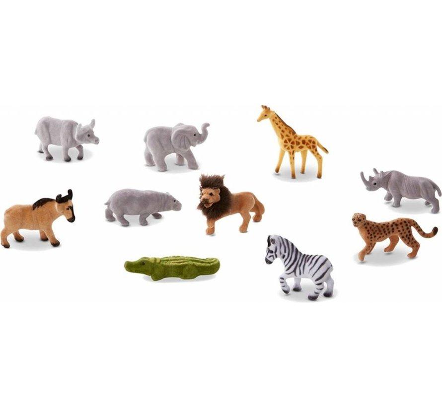 Melissa & Doug Speelfigurenset Safari 10-delig