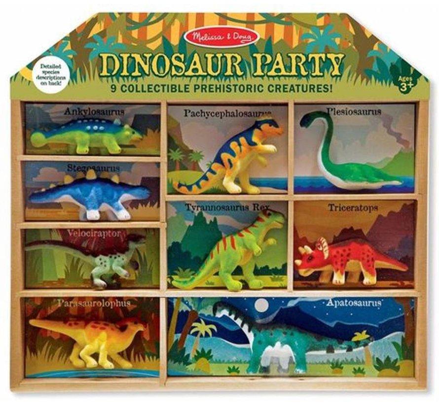 Melissa & Doug Speelfigurenset Dino's 10-delig