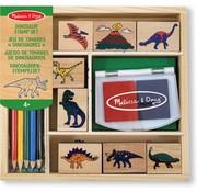 Melissa & Doug Melissa & Doug Houten stempelset - Dinosaurus