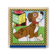 Melissa & Doug Melissa & Doug - Huisdieren - Blokken Puzzle