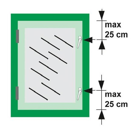 AXA Axa raamboompje 3302 met kierstand