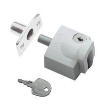 Axa oplegslot 3012 inbouwsluitkom wit 3012-20-98/G SKG*