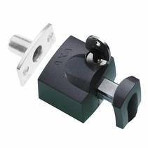 Axa oplegslot 3012 inbouwsluitkom zwart antraciet 3012-20-97/G SKG*