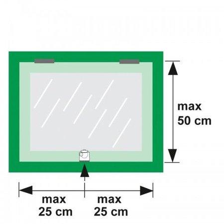 AXA Opbouwsluitkom oplegslot 3012