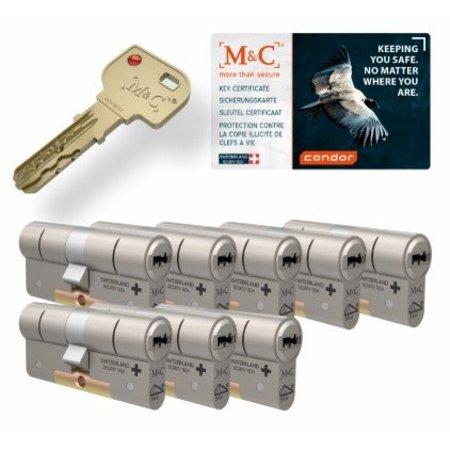 M&C M&C Condor cilinder met kerntrekbeveiliging (8x) - SKG***