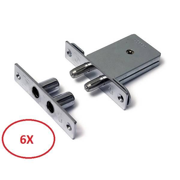 Dulimex Dulimex pensloten gelijksluitend (6x) - SKG**