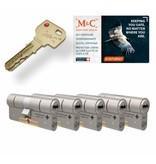 M&C M&C Condor cilinder met kerntrekbeveiliging (5x) - SKG***