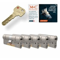 M&C Condor cilinder met kerntrekbeveiliging (5x) - SKG***