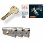 M&C M&C Condor cilinder met kerntrekbeveiliging (3x) - SKG***