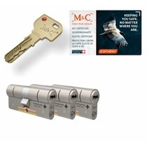 M&C Condor cilinder met kerntrekbeveiliging (3x) - SKG***